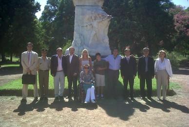 Acto aniversario de El Gran Maestro de la patria Domingo Faustino Sarmiento!