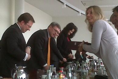 Encuentro con CDU y KAS