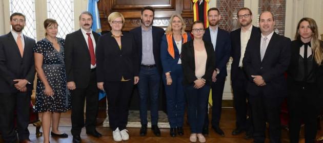Estrechamos vínculos parlamentarios con Alemania