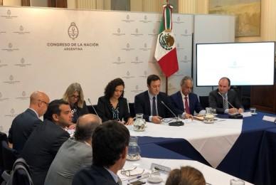 IV Reunión Bicameral Interparlamentaria Argentina-México