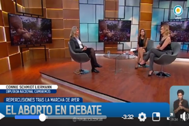 """TV PÚBLICA 24/03/2018 programa """"Televisión Pública Noticias"""""""