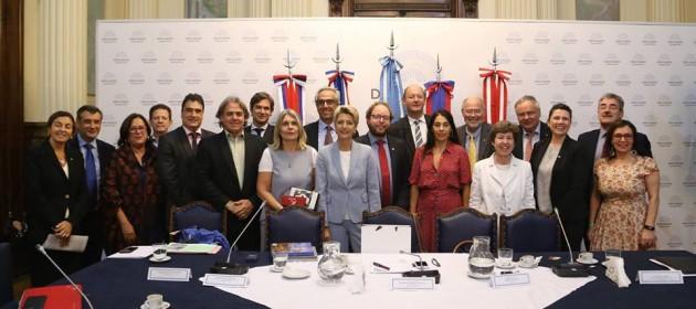 Encuentro con delegación de la EFTA