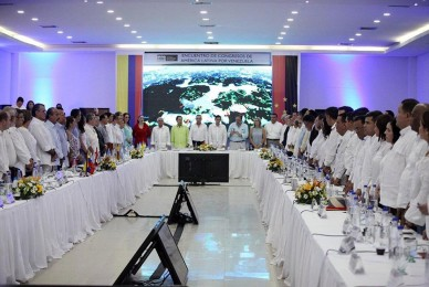 Cumbre histórica de Parlamentarios en Cúcuta