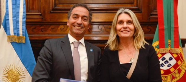 Encuentro con el embajador de Portugal