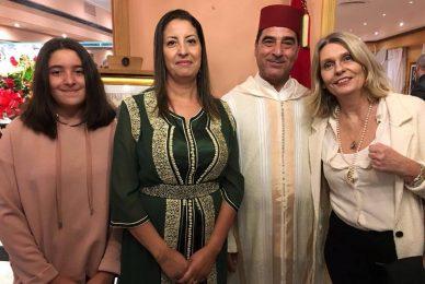 En la fiesta del trono de Marruecos