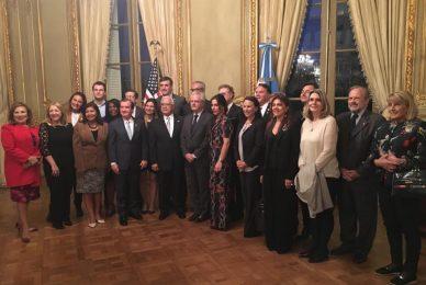 Encuentro con la Cámara de Representantes de Estados Unidos