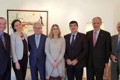 Encuentro con representantes de la Asociación Europea de Cámara de Comercio e Industria