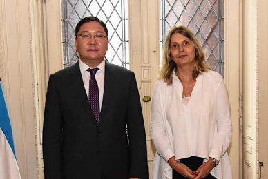 Encuentro con el ministro de Asuntos Exteriores de Mongolia