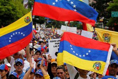 Gloria al bravo pueblo venezolano