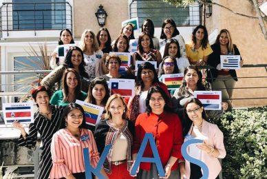 Mujeres líderes en la política