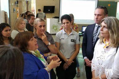 INFOBAE 14/03/2019 Una diputada de Cambiemos fue a visitar una cárcel de mujeres
