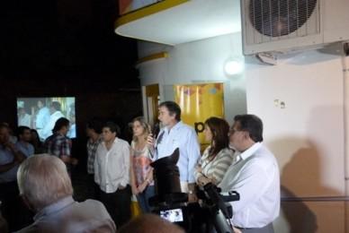 MISIONES ONLINE  17/11/2012  Con el presidente del partido inauguraron la sede del Pro en Misiones