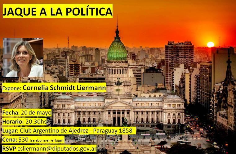 Invitacion Jaque a la politica