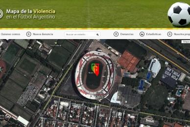 Mapa de la violencia en el fútbol