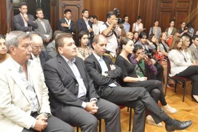 Acto en la Legislatura Porteña