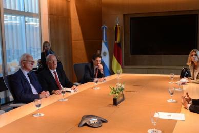 Con Mauricio Macri