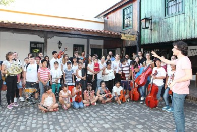 Agradecimiento por la invitación a participar del concierto de la Orquesta Juvenil del Sur