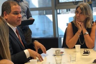 Encuentro con el diputado venezolano Luis Florido