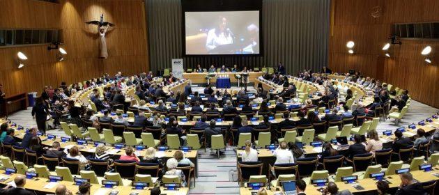 En las Naciones Unidas