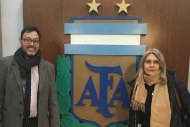 Reunión en la AFA