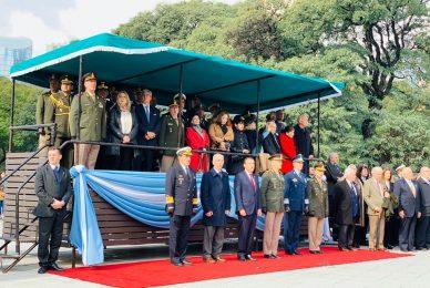 Homenaje al general San Martín